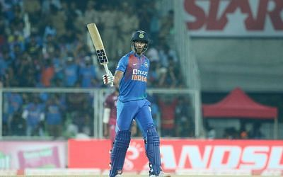 India vs West Indies: Dube leads with fifty as India post 170/7