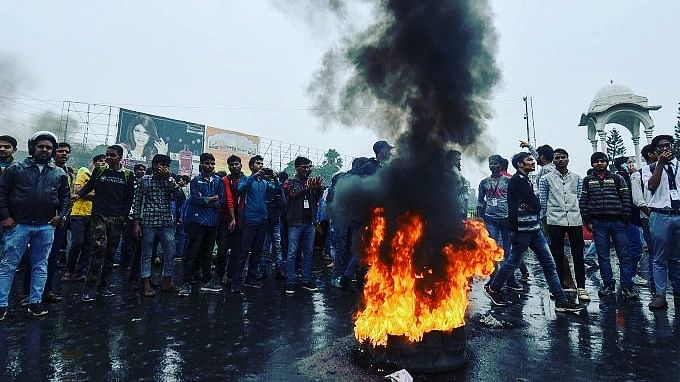 Patna students join protest