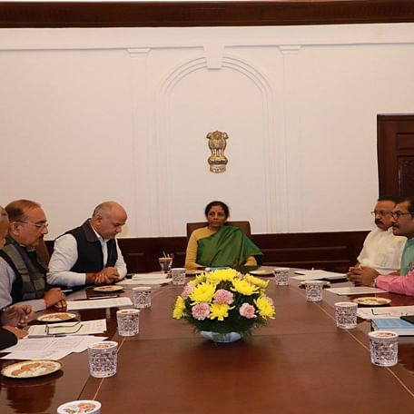 Opposition-ruled states meet FM over delay in GST compensation