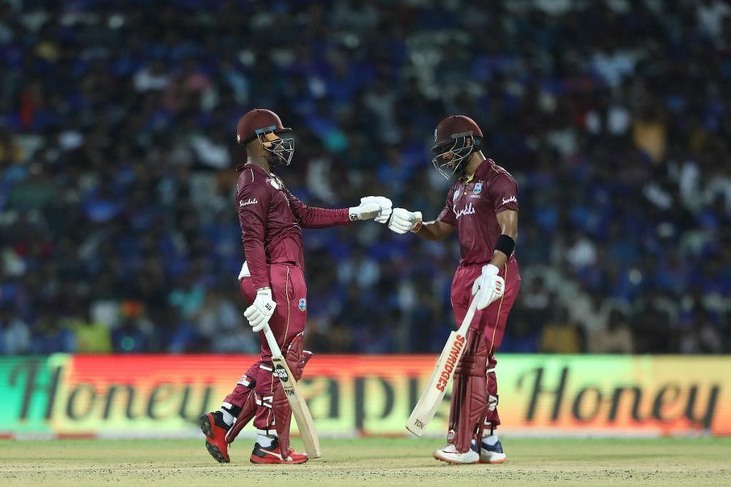 Hetmyer, Hope tear apart Indian bowlers to hand Windies 1-0 lead
