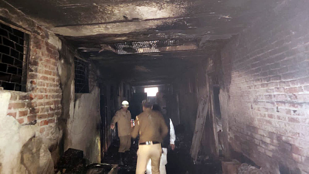 Image result for Delhi fire: factory owner and his brother arrested