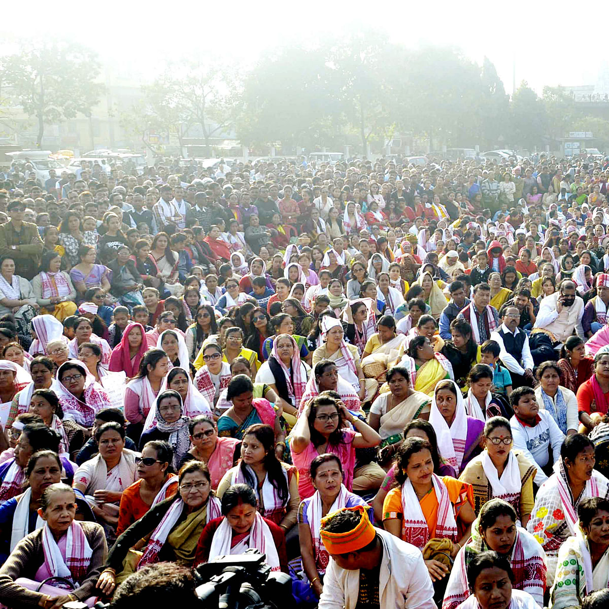 CAA protest: Assam storm hasn't weathered