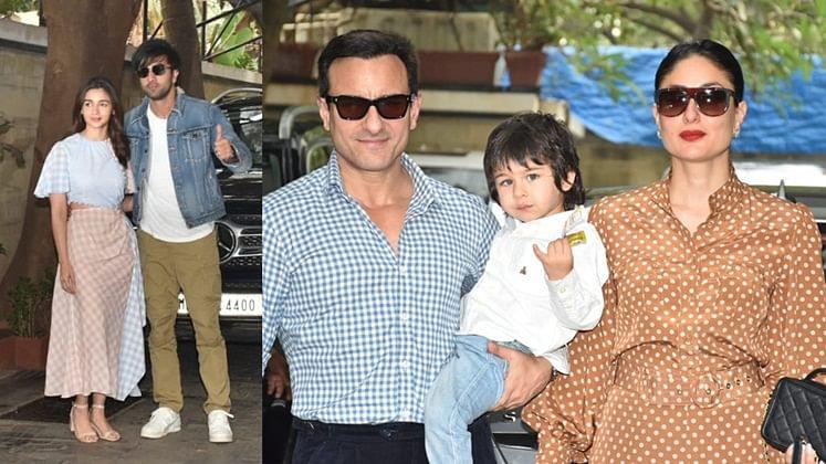 Kapoor Christmas brunch: Ranbir-Alia, Saif-Kareena give major power couple vibes; see pics