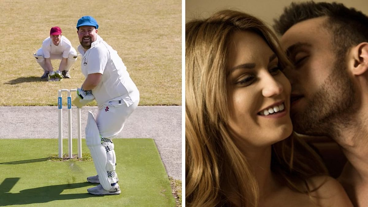 What can you say during both sex and cricket?