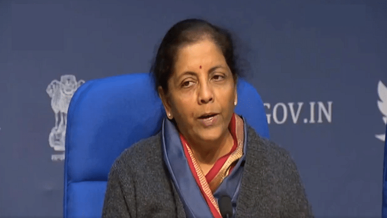 Finance Minister Sitharaman announces Rs 102 lakh crore of infra projects for next five years