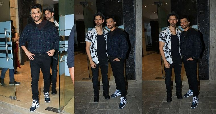 Rohini Iyer House Party: Hrithik Roshan and Anil Kapoor indulge in 'jhakaas' bromance