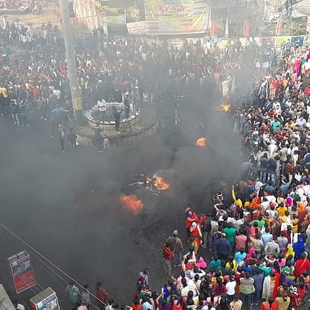 CAB protests in Assam Latest Updates: AGP headquarters attacked; MLA's house set ablaze
