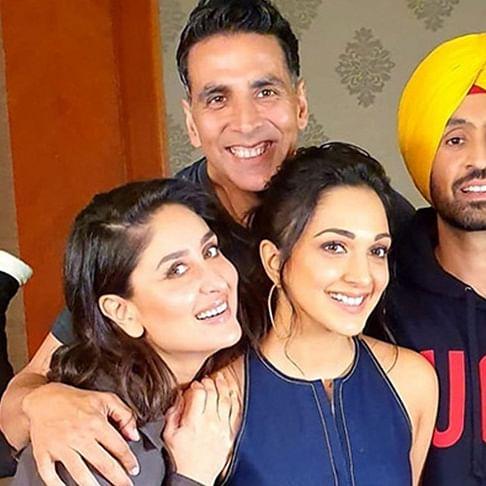 Watch: Akshay, Kareena, Diljit, Kiara do a carpool karaoke and it's hilarious