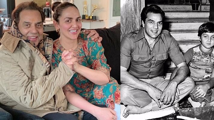 Bobby Deol, Esha Deol wish papa Dharmendra with heartfelt posts on his 84th birthday