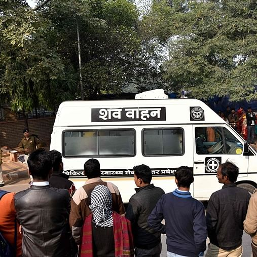 Mortal remains of Unnao rape victim brought to her village