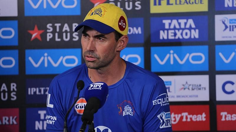 IPL 2020: CSK coach Stephen Fleming loses his cool over question on MS Dhoni's batting position against SRH