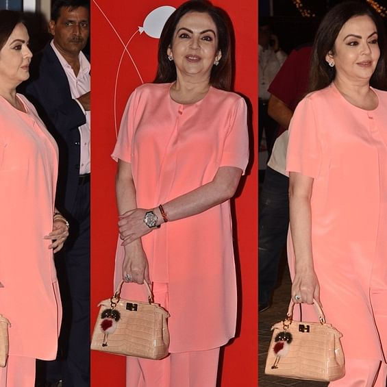 Nita Ambani's teeny-tiny bag's price is a mind-boggling Rs 5 Lakh!