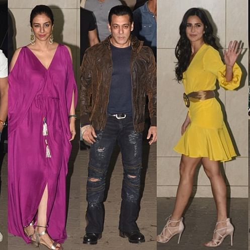 Katrina Kaif, Tabu and other B-town celebs attend Salman Khan's birthday bash