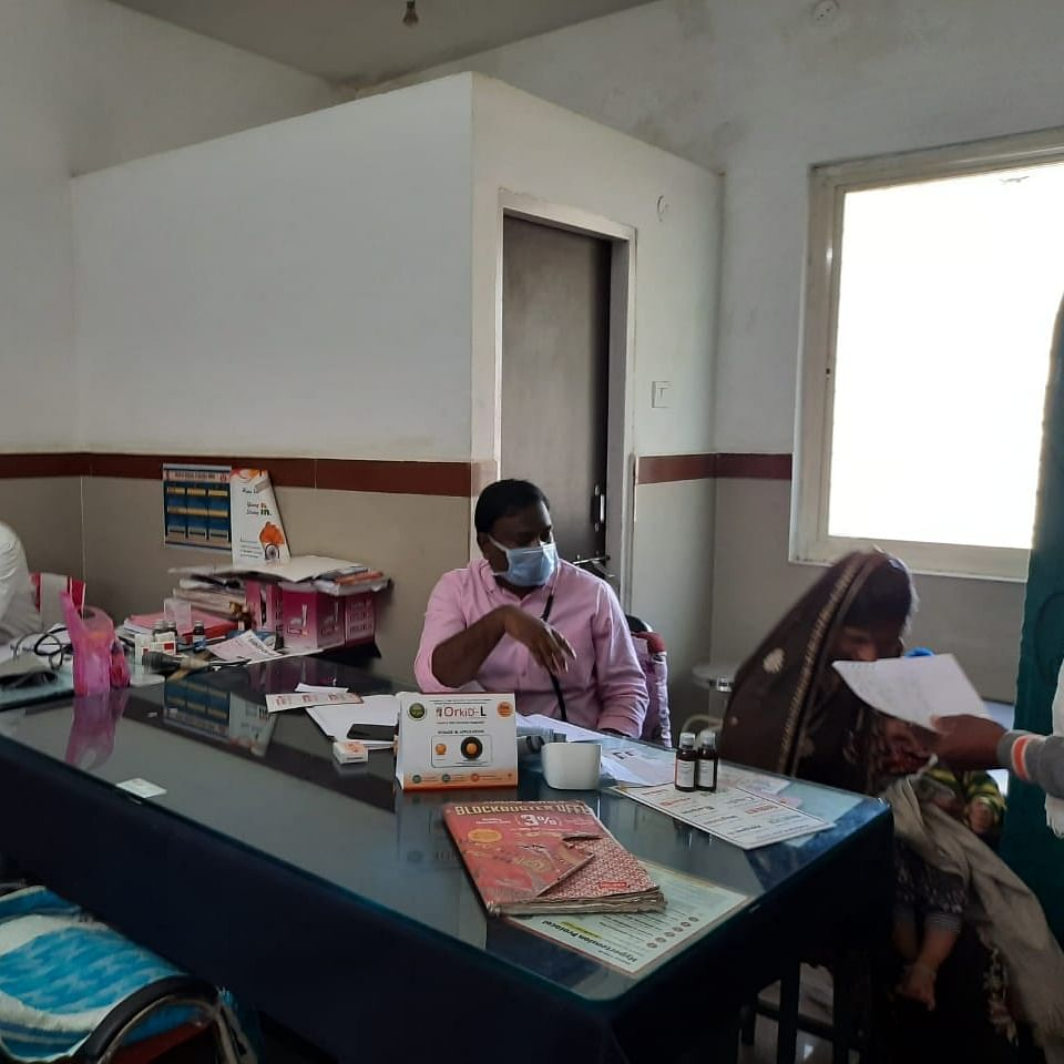 One doctor serves 300 patients at Rehti community health center