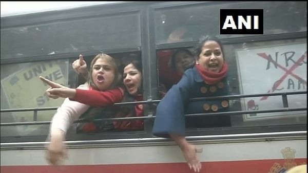 CAA protest: Congress leader Sharmistha Mukherjee detained near Amit Shah's residence