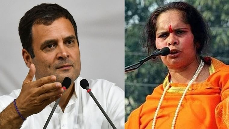 Biggest rapist was Nehru: Sadhvi Prachi stokes controversy with response to Rahul Gandhi's 'rape capital of the world' comment