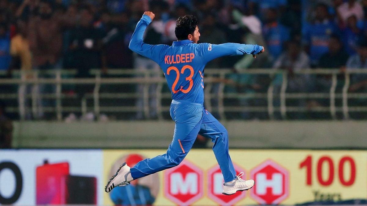 Kuldeep becomes first Indian to bag two international hat-tricks