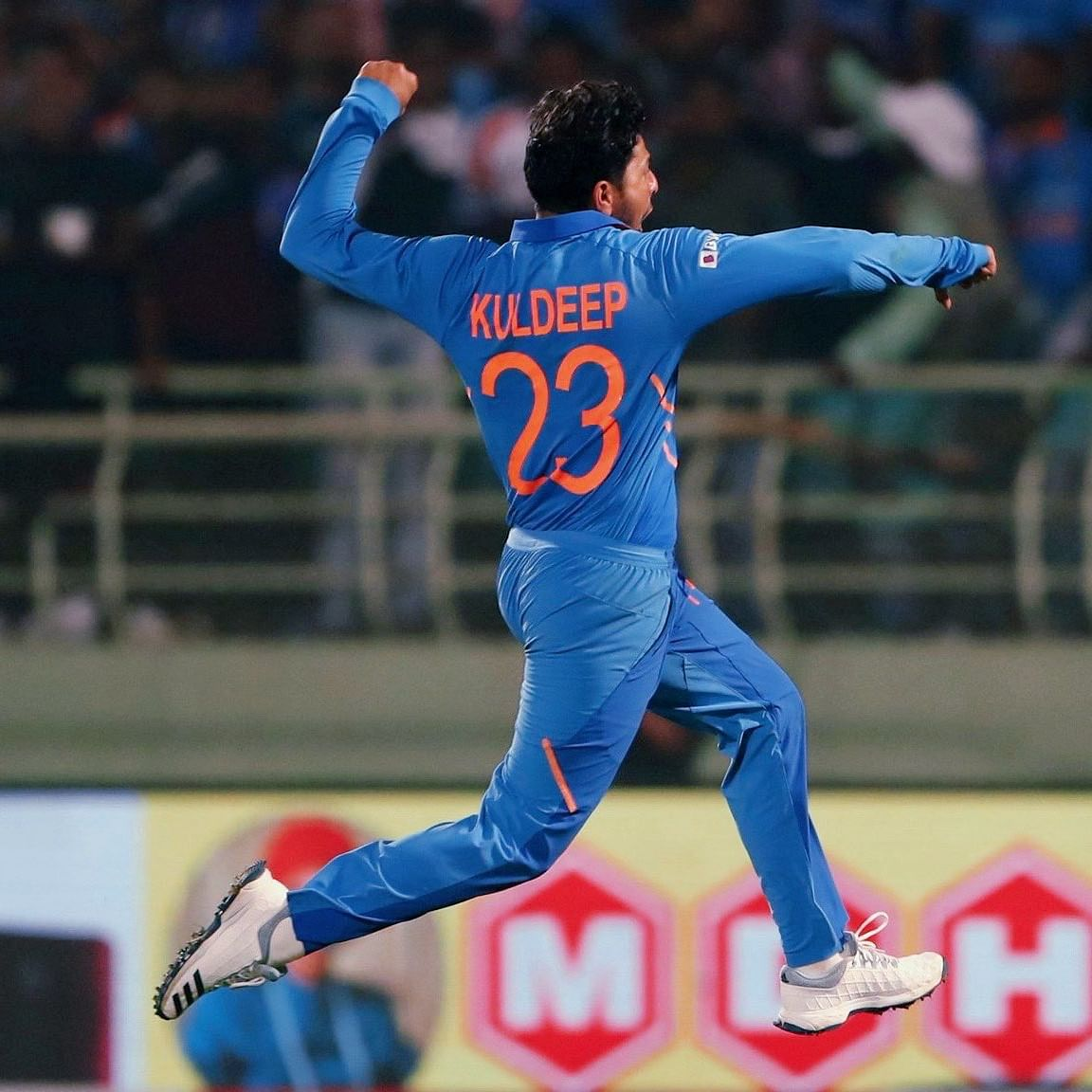 Kuldeep becomes first Indian to bag two international hat-tricks