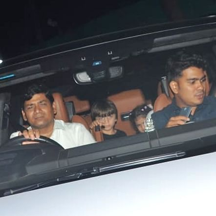 No Pictures! When Shah Rukh Khan's son AbRam asked the paparazzi to make way