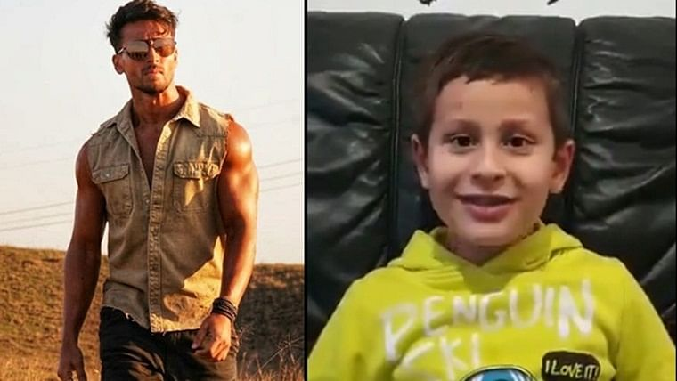 Tiger Shroff's young fan from Germany shares an adorable poem for his 'strong hero'