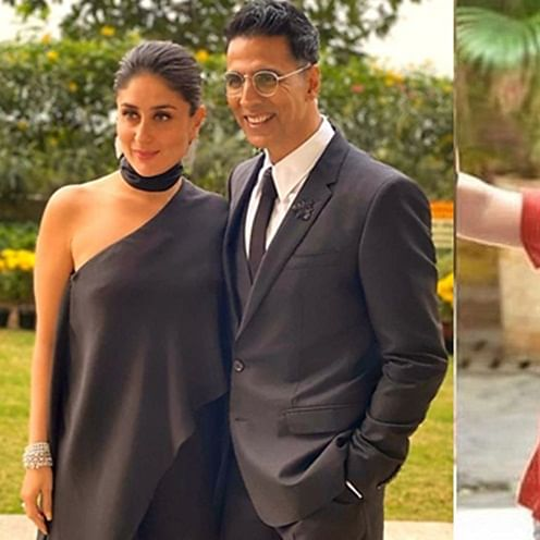 Watch: Kareena Kapoor Khan signs Akshay Kumar and Taimur Ali Khan for 'Main Khiladi Tu Anari'