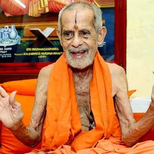 Pejavara Mutt Seer Vishwesha Teertha Swami passes away at 88