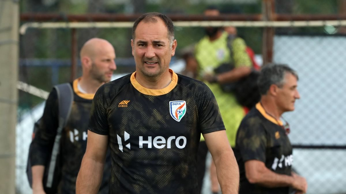 Indian football coach Igor Stimac