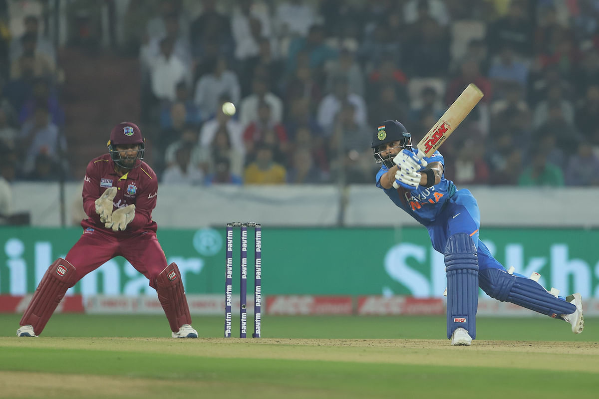 Genius Kohli lifts India to win over Hetmeyer, West Indies