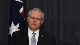 Australian Prime Minister Scott Morrison announces $2b relief fund