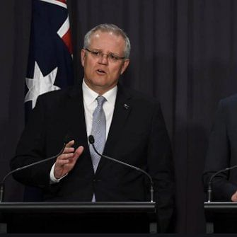 Australian Prime Minister Scott Morrison announces $2b relief fund