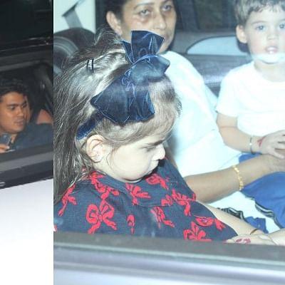 Inside Pics: AbRam, Yash, Roohi and other starkids attend Rani Mukerji's daughter Adira's birthday bash