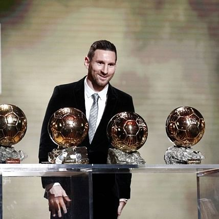 Lionel Messi wins 2019 Ballon d'Or Prize for sixth time as Megan Rapinoe takes women's prize