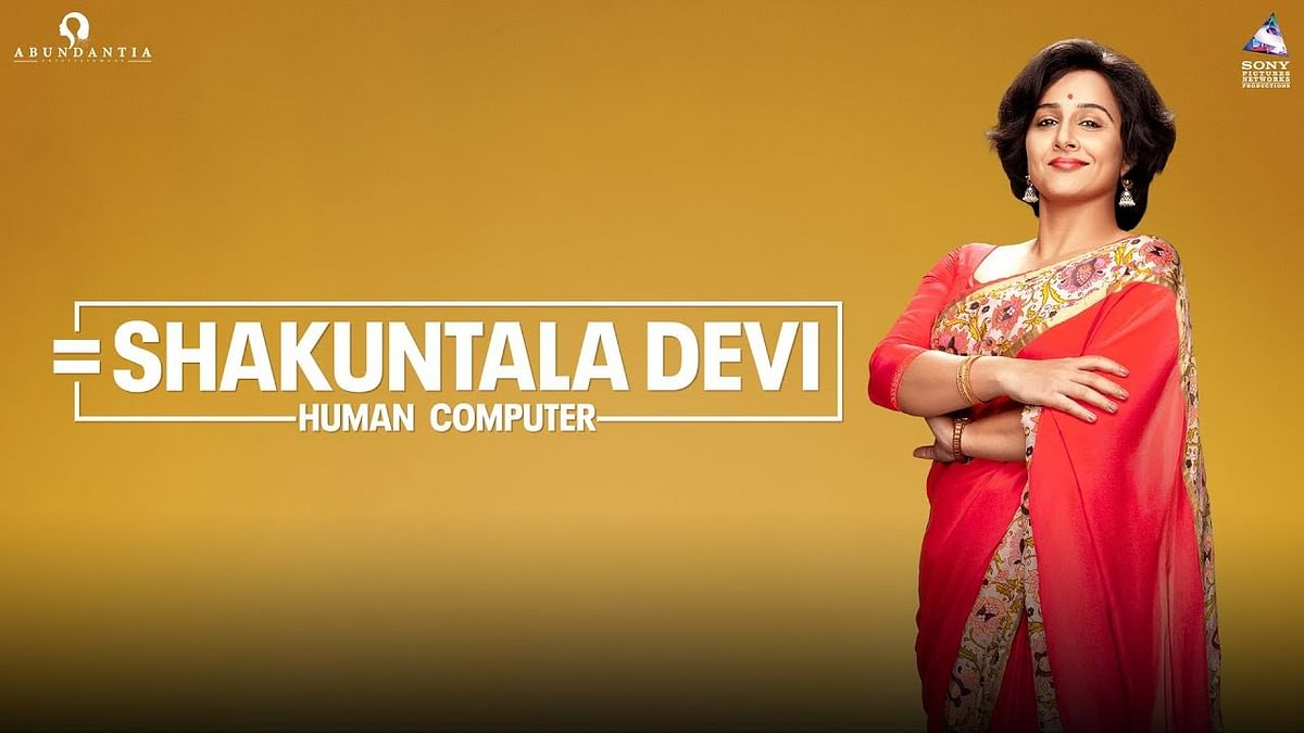 Vidya Balan as Shakuntala Devi