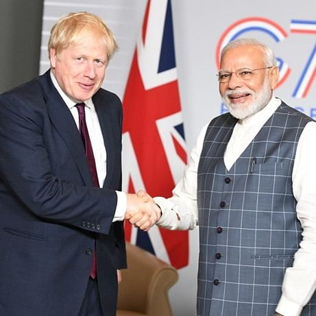 'Many congratulations': PM Modi wishes Boris Johnson on 'thumping majority' in UK election
