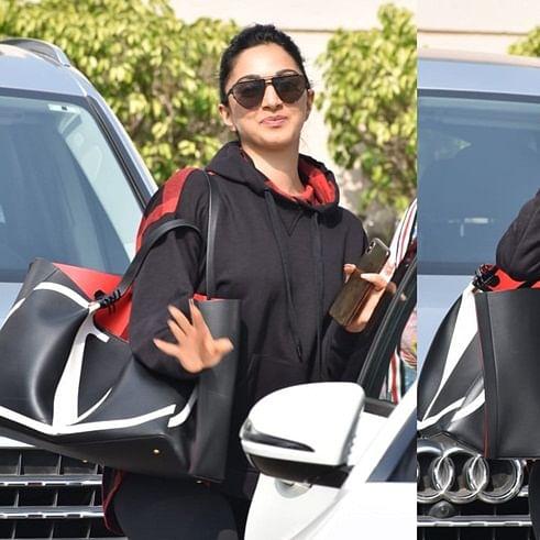Kiara Advani's handbag worth Rs 2 Lakh doesn't even have a zip!