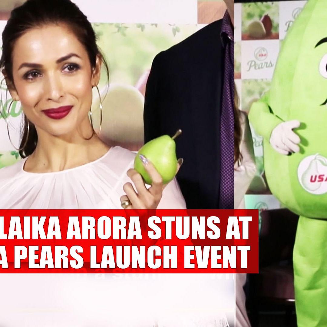 Malaika Arora stuns at USA Pears launch event