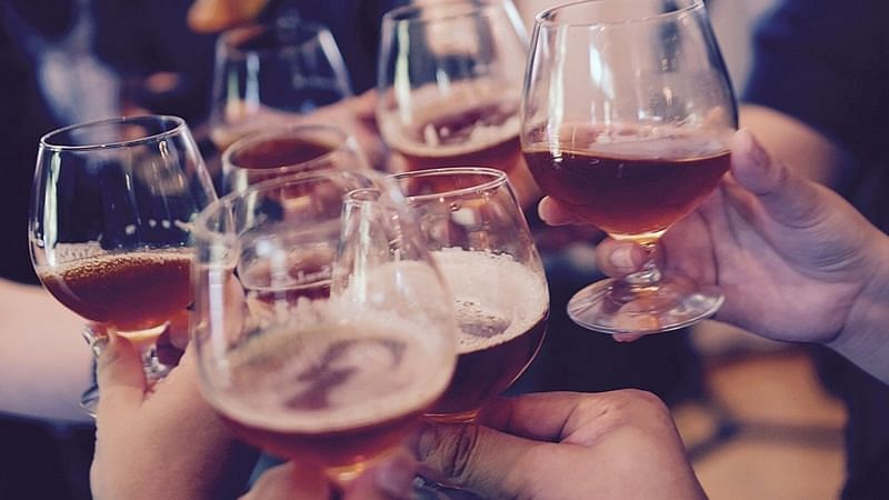 Representational image of people drinking