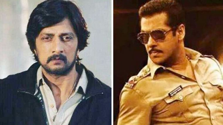 Kiccha Sudeep reveals he and Salman Khan fought for 23 days for 'Dabangg 3' climax