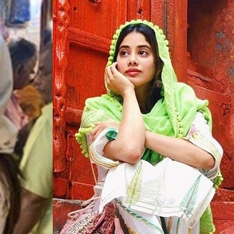 Who's that desi girl: Janhvi Kapoor shines bright on a Sunday afternoon