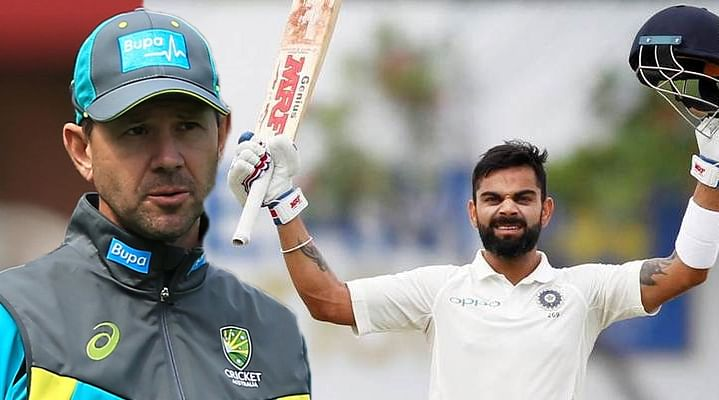 Ricky Ponting picks Virat Kohli as captain of his Test team ahead of Steve Smith
