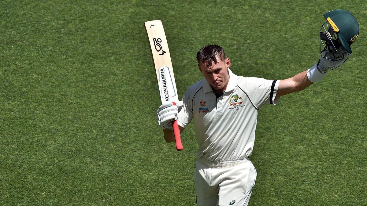 Australia's batsman Marnus Labuschagne