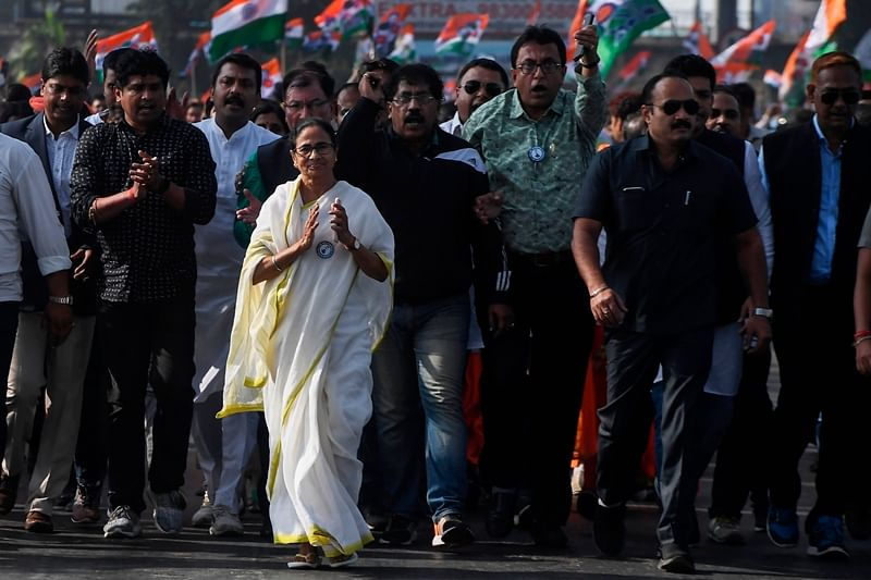 HM Amit Shah's job is to douse the fire, says Mamata Banerjee