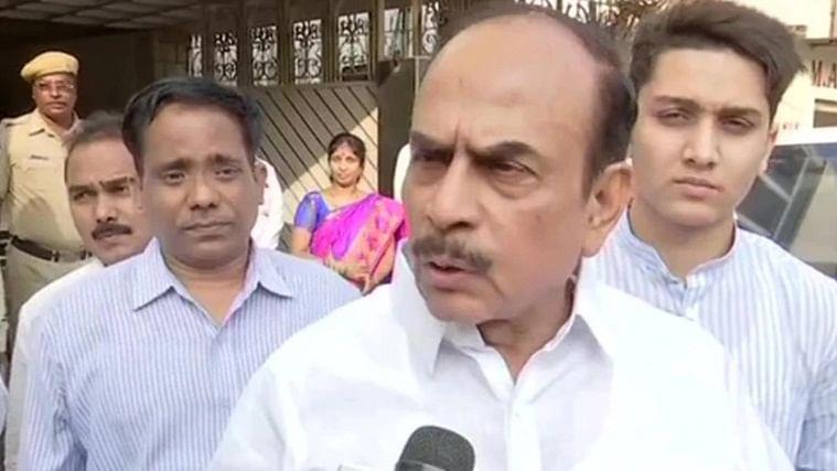 Hyderabad Home Minister Mohammad Mahmood Ali