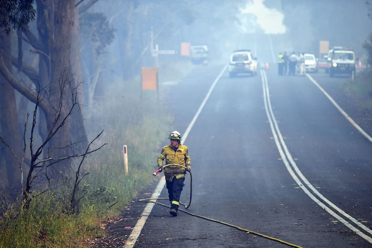 Sydney's water supply now underthreat from bushfires