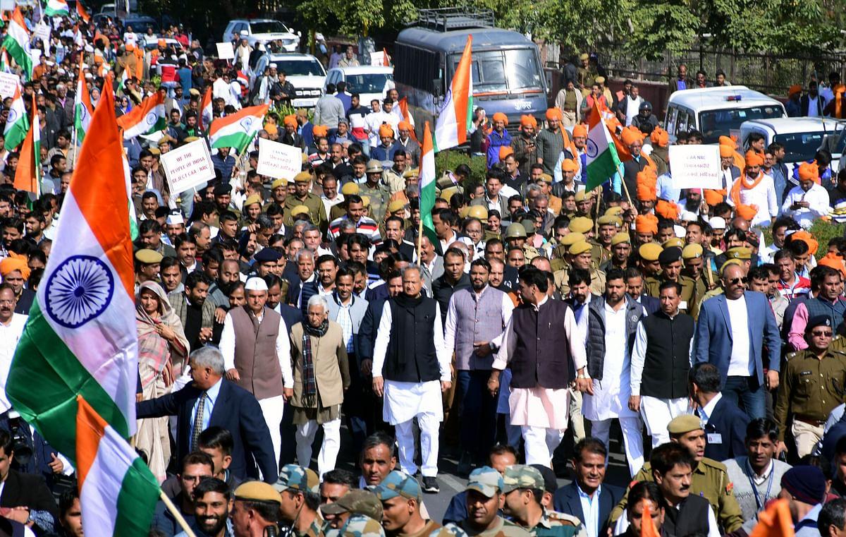 NRC is not just against Muslims, it is against the nation: Raj CM Ashok Gehlot