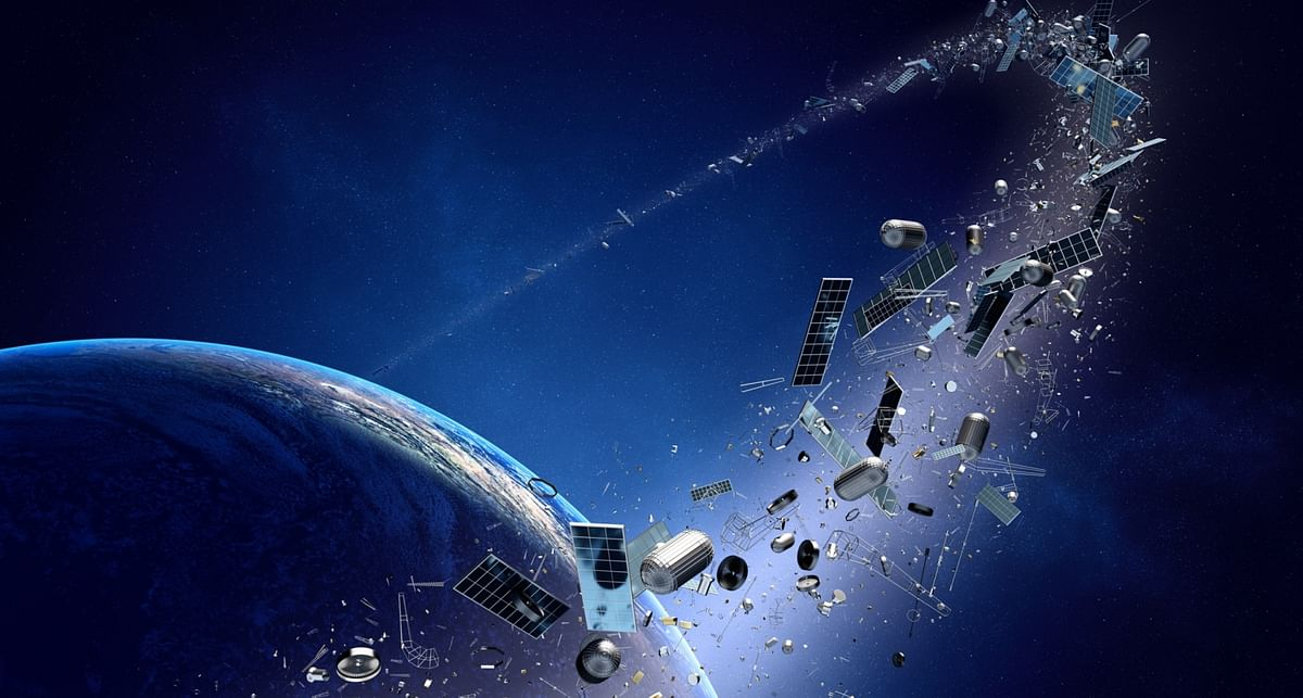 Laser-based system to accurately spot space junk