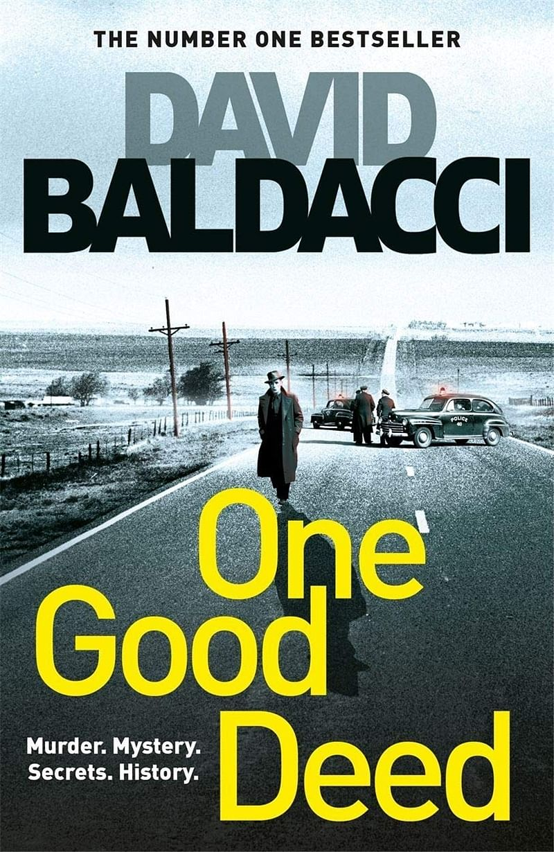 Book Review: Not the best Baldacci read