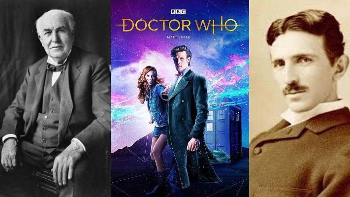 'Doctor Who' makers reveal who will play Thomas Edison and Nikola Tesla
