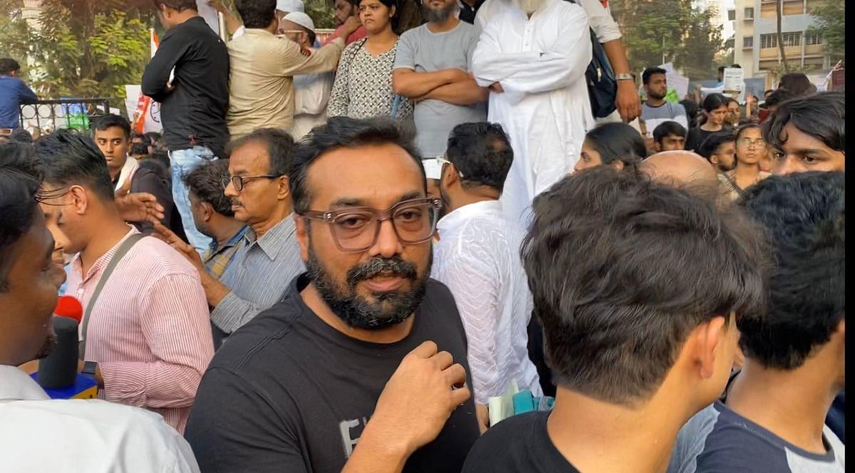 Anurag Kashyap at CAA protests