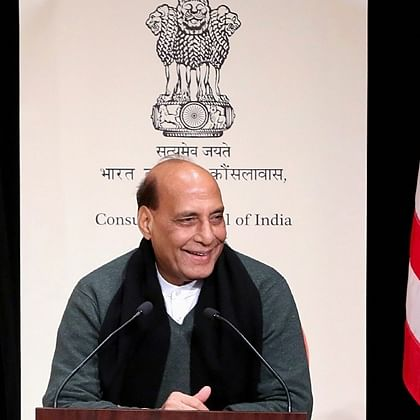 Defence Minister Rajnath Singh visits US naval air station, reflects on strong defence ties